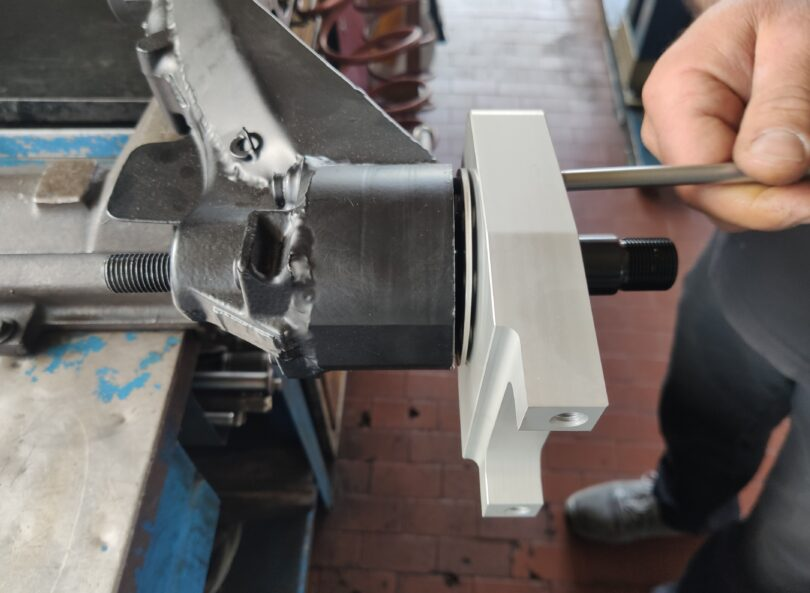 Istruzione montaggio kit camber braccio Saxo Kit 6