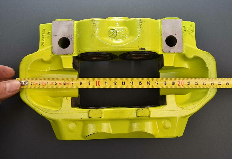 Misure pinza freno Alfa 159 piccola 1
