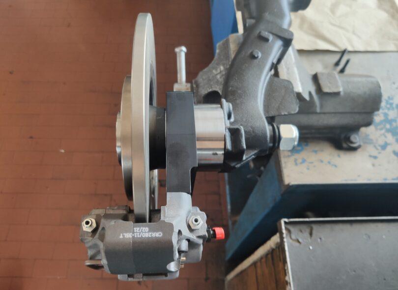 Nuovo kit freni Alcon montaggio con kit camber 20 mm 10