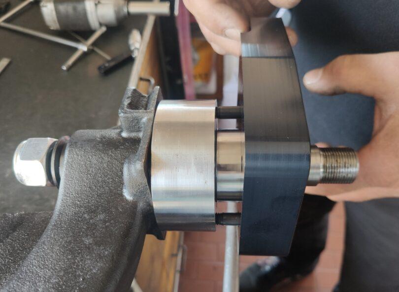 Nuovo kit freni Alcon montaggio con kit camber 20 mm 7
