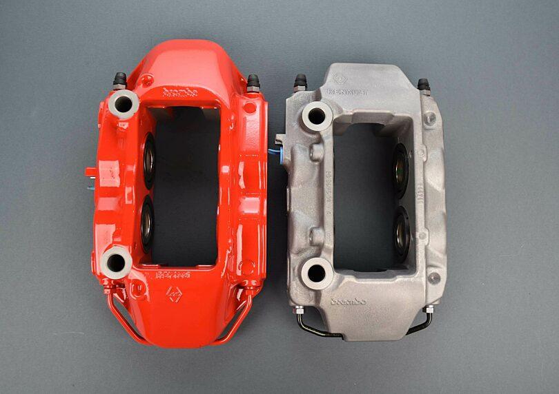 Pinza Megane vs pinza Clio RS3 2
