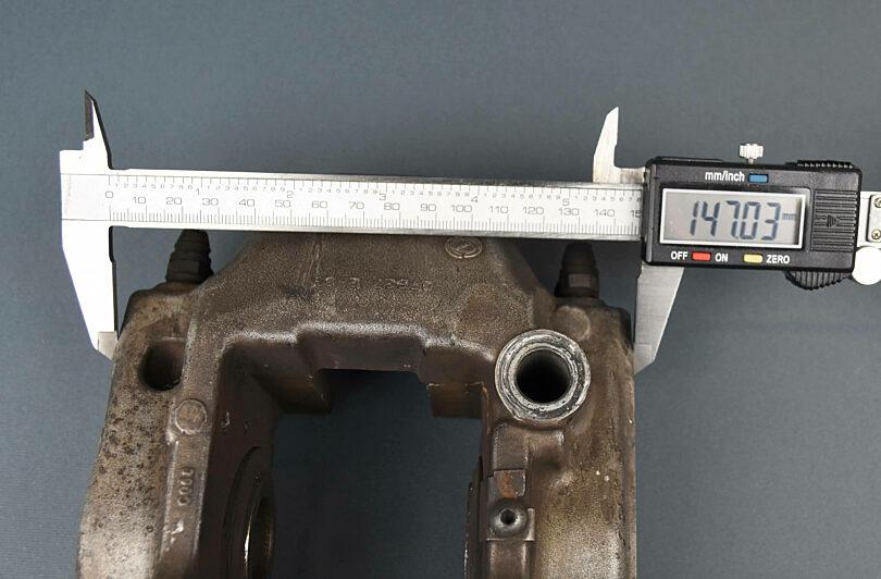 Pinza freno Alfa 159 grande misura 2