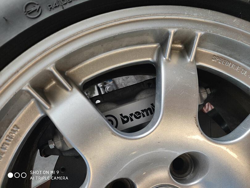 Prova montaggio Peugeot 309 283 mm 1
