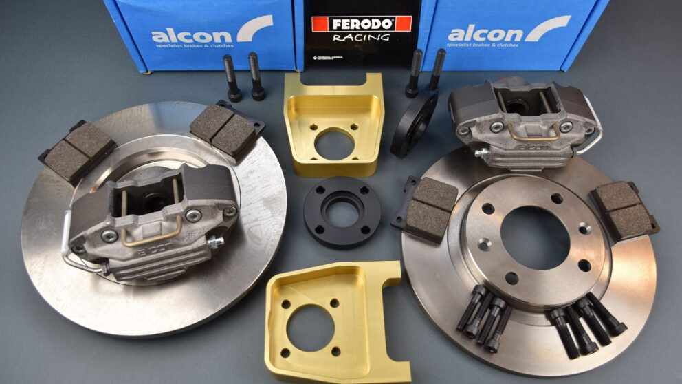 Kit Alcon post braccio serie senza camber Alcon 280