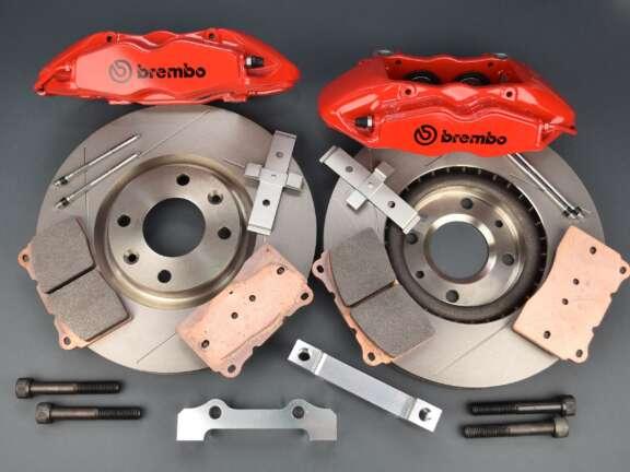 Kit freni Citroen Peugeot pinza freno Brembo Megane 3 disco 302 mm 4