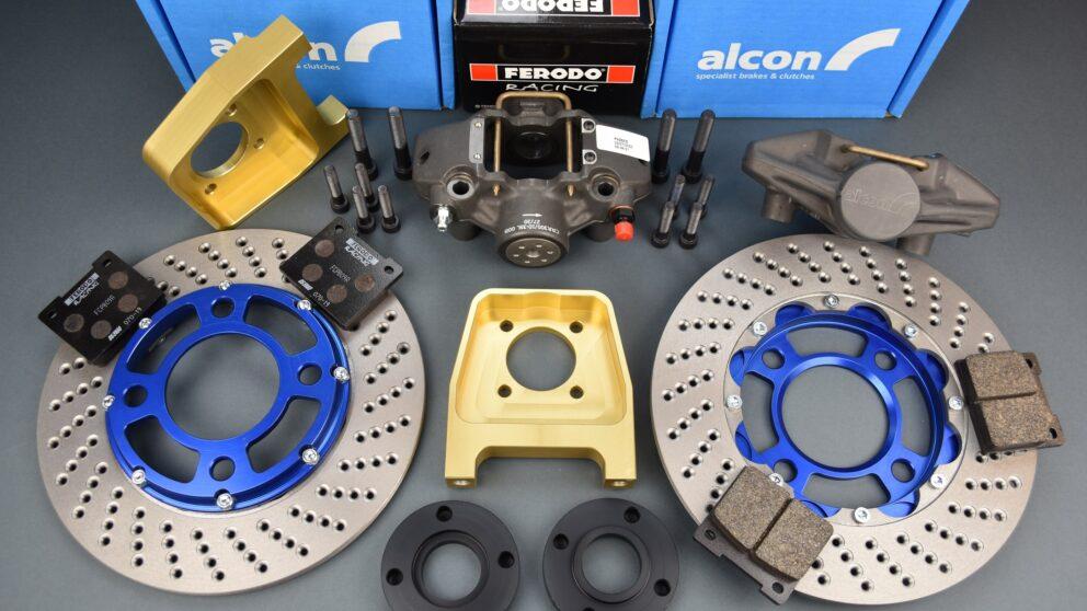 Kit Alcon post braccio serie pinza nuova disco extralight main