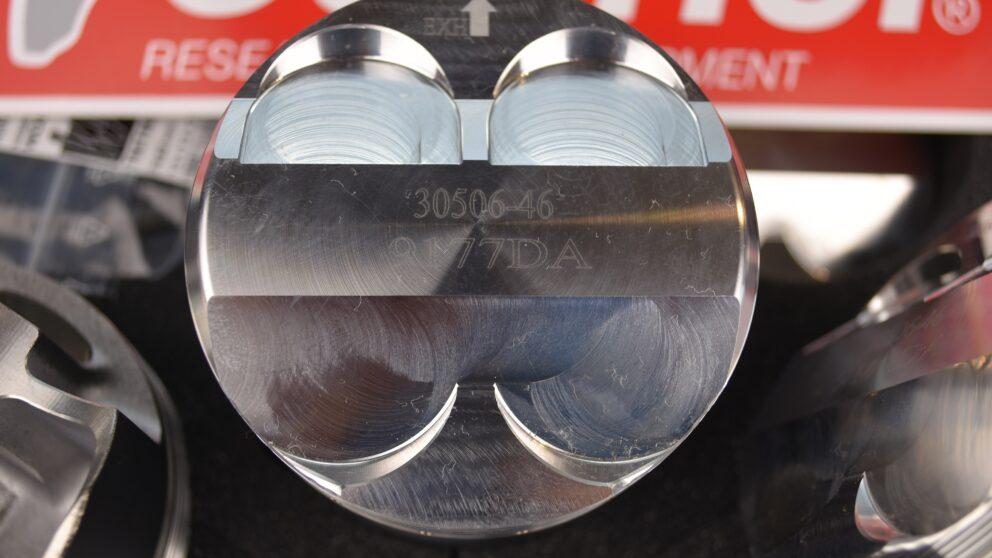 Pistoni Wossner alta compressione C2 206 biella 1336 mm 2 jpg