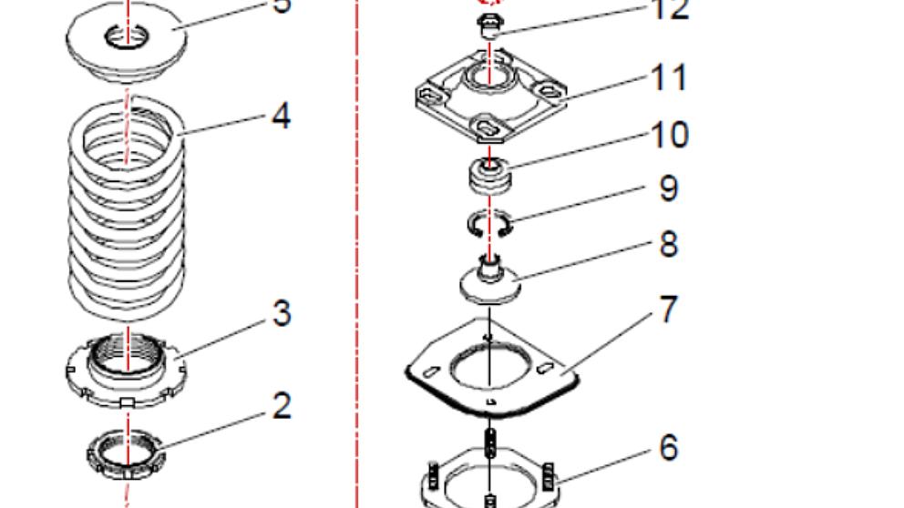 Schema montaggio kit camber CS