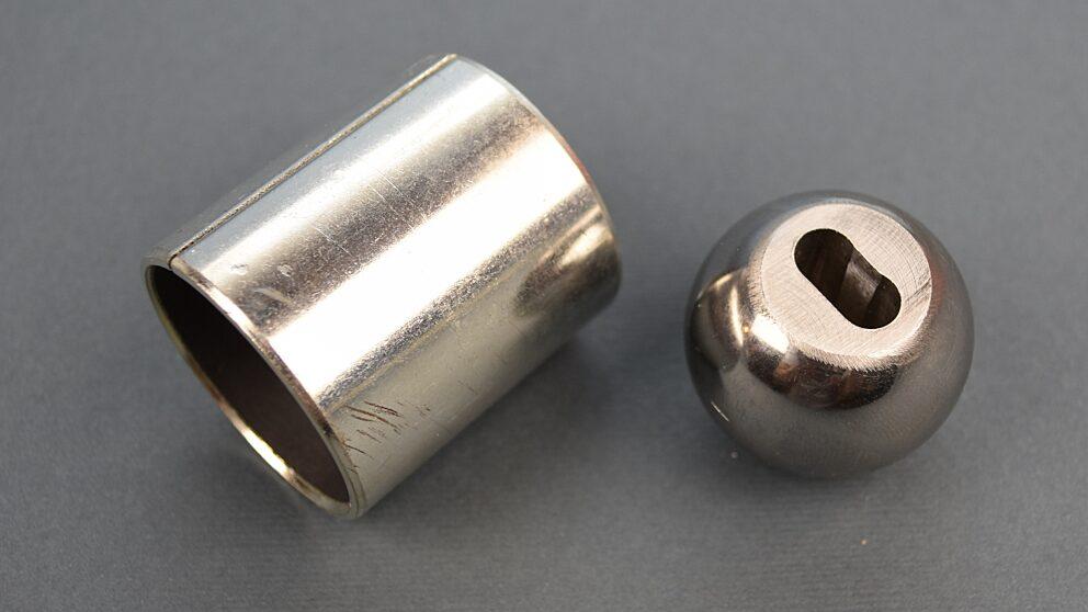 Modifica leveraggio rinvio cambio sfera acciaio Saxo 106 2