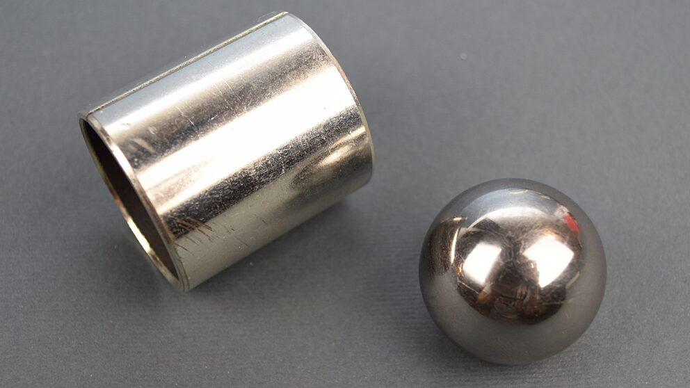 Modifica leveraggio rinvio cambio sfera acciaio Saxo 106 3