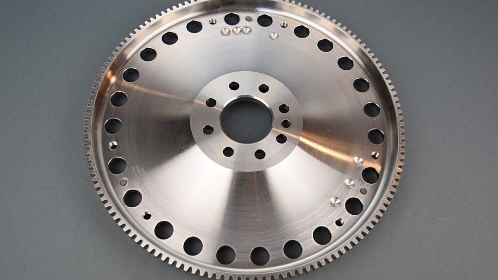 Volano acciaio ultraleggero motore XU215 mm 1