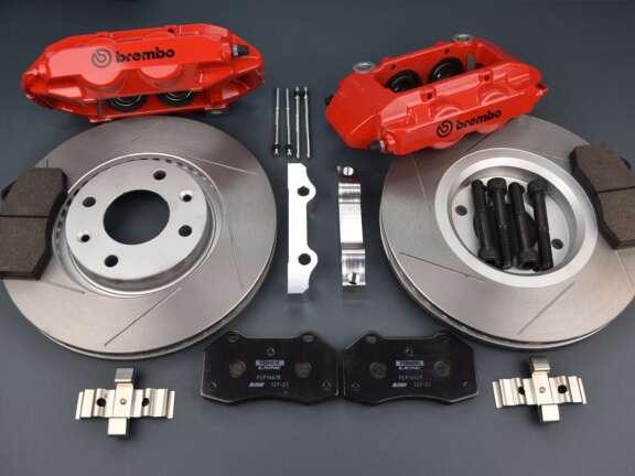 Kit freni Saxo 106 pinza Brembo Clio RS3 283 mm