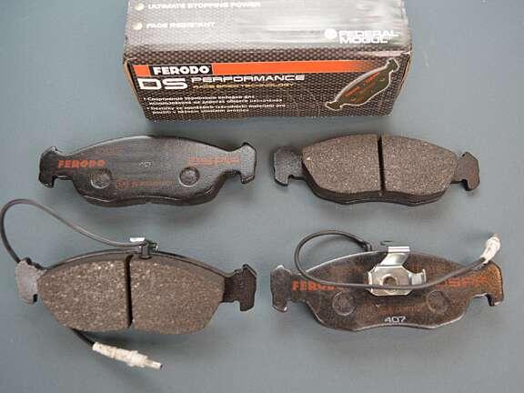 Pastiglie freno Ferodo Racing Saxo 106 pinza di serie 28129