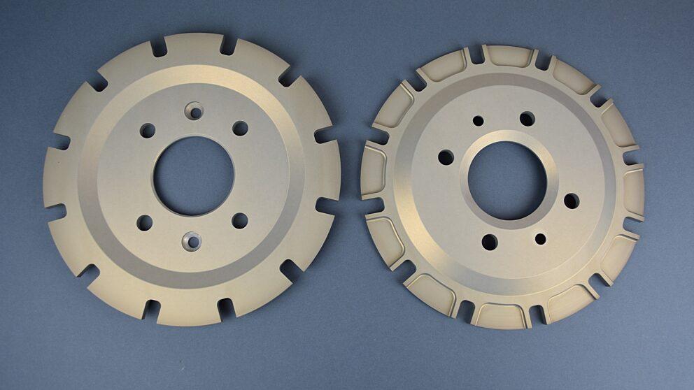 Campanelle ergal Saxo kit asfalto disco 345 mm 2