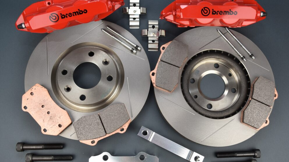 Kit freni brembo Peugeot e Citroen 302 mm pinza Clio RS3 1