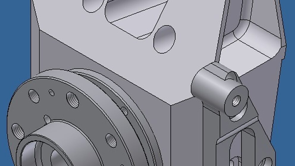 Rendering pivot 106 Maxi con staffa disco 323 mm 1