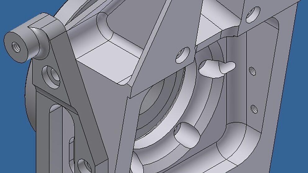 Rendering pivot 106 Maxi con staffa disco 323 mm 2