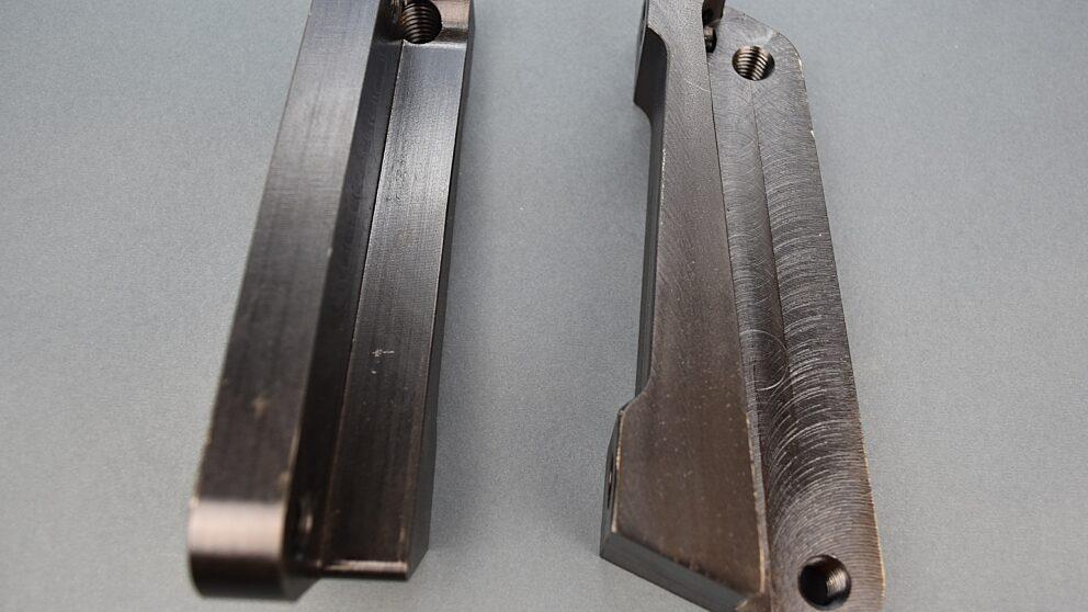 Staffe freno acciaio Clio RS4