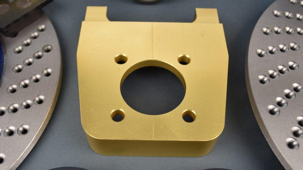 Kit Alcon post braccio serie pinza nuova disco extralight 1 2