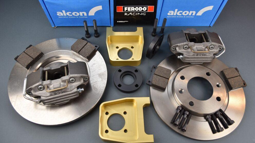 Kit Alcon post braccio serie senza camber Alcon 280 1