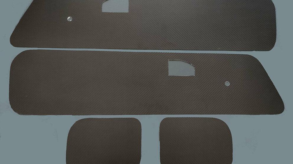 Pannelli anteriori carb Saxo 106 1