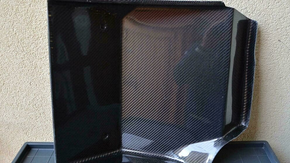Pedana carbonio copilota 2