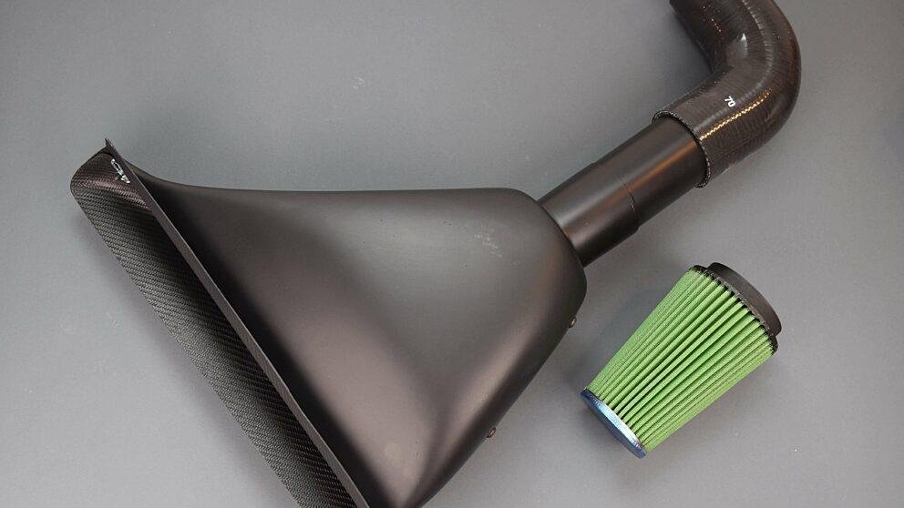 Airbox Saxo Cup replica tubo metallo 1