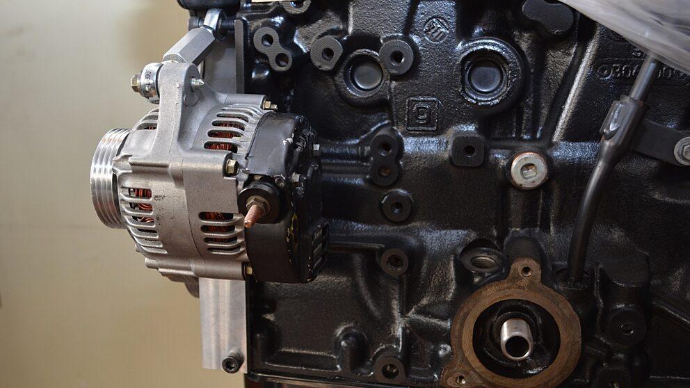 Kit alternatore leggero Saxo 3