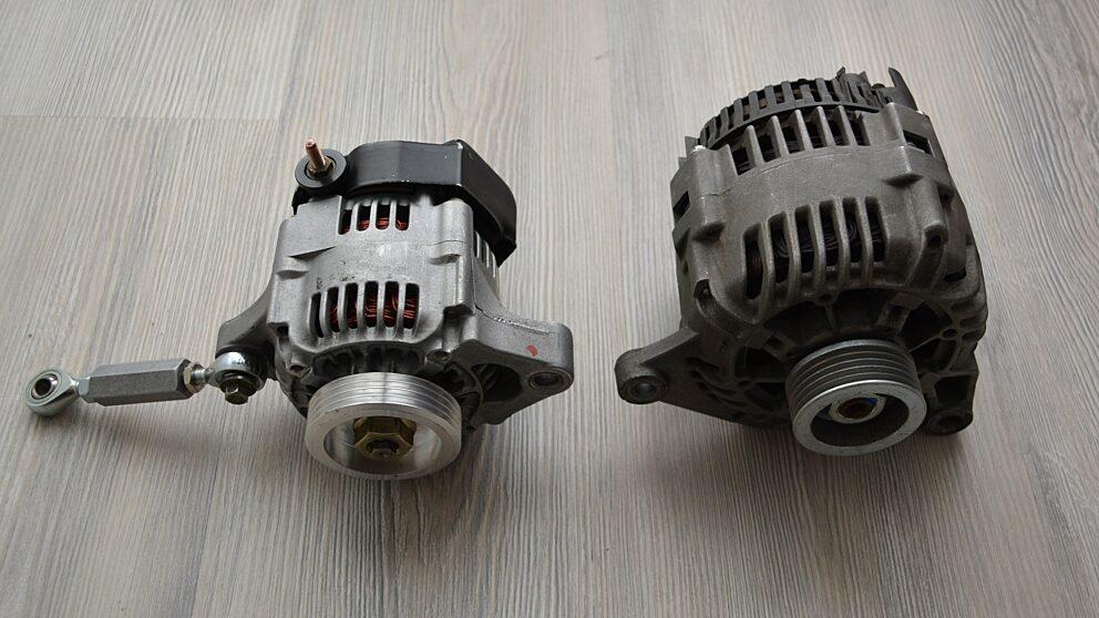 Kit alternatore leggero Saxo 8
