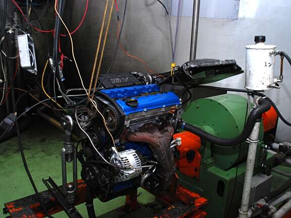Merc motore mini Gr A a banco