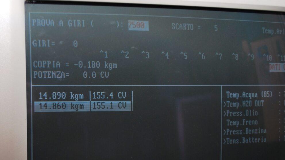 Merc motore mini Gr A video 155