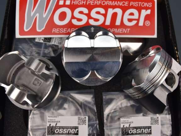 Pistoni Wossner alta compressione C2 206 biella 1336 mm 1 jpg