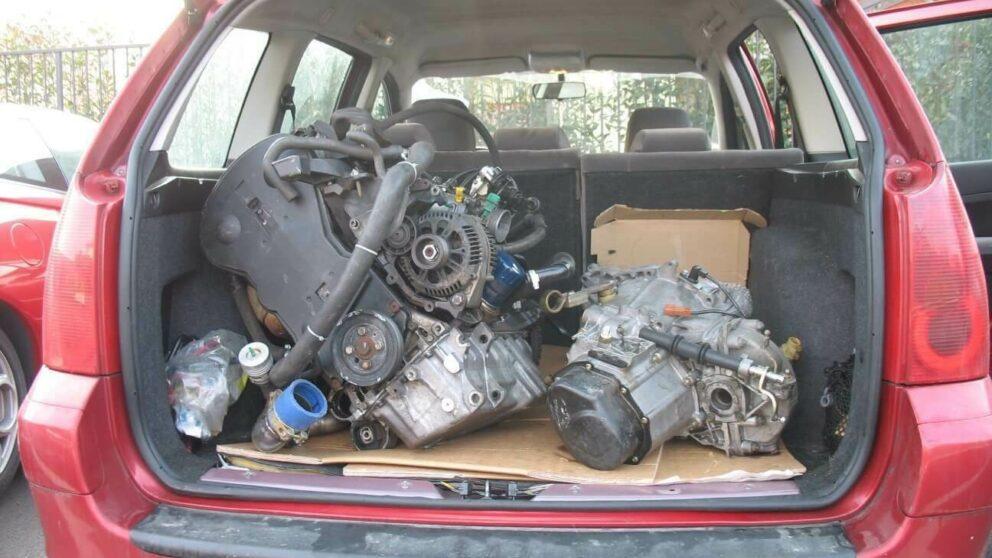 Motore T16 su 307