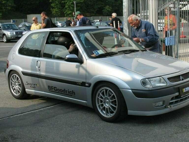Saxo 2007 Varano entrata