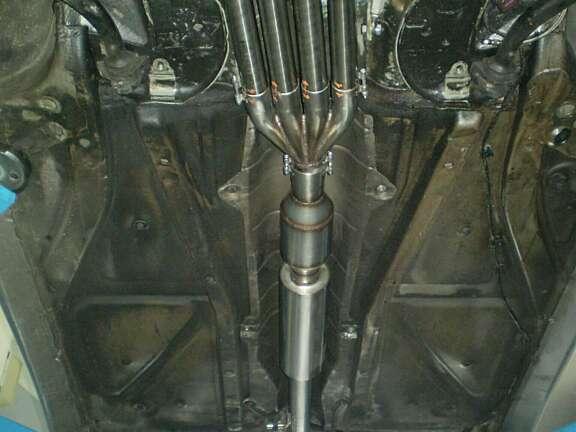 Saxo 2000 impianto scarico 1