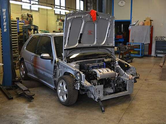 Saxo 2000 installazione XU10 J4 RS 3