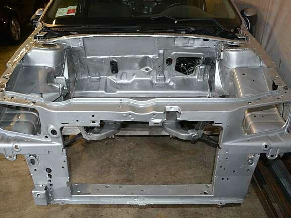 Saxo 2000 preparazione vano motore 2