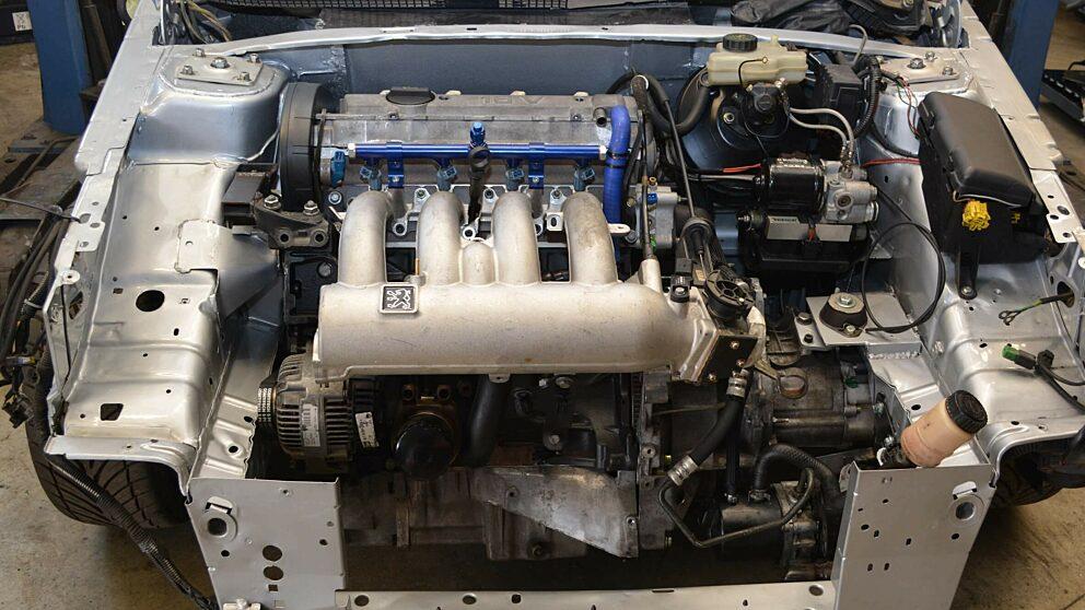 Motore XU10 J4 RS installato