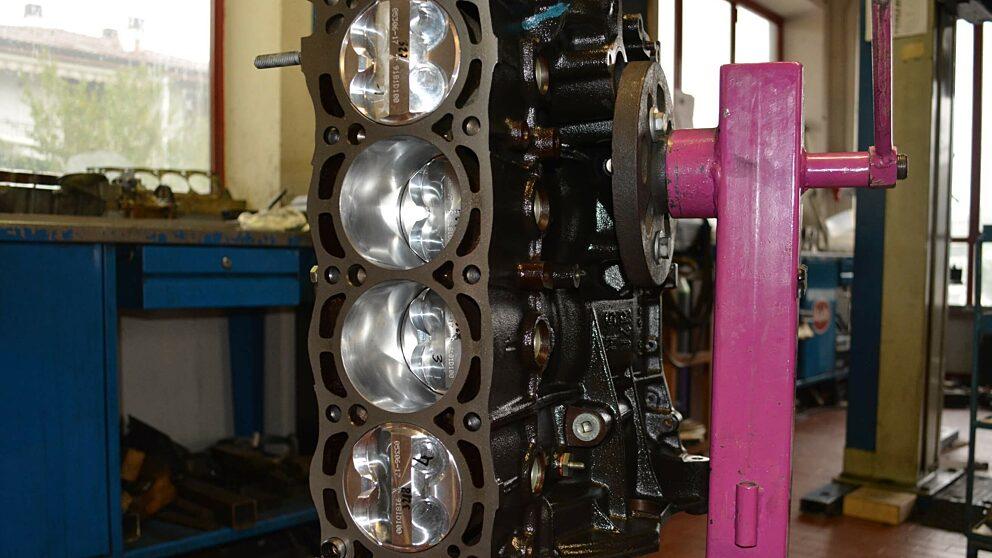 Preparazione motore XU10 J4 RS