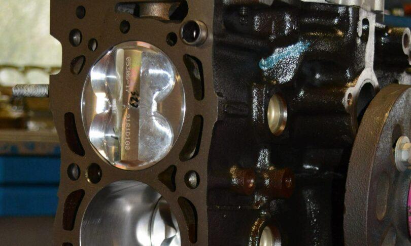 Blocco XU10 J4 RS dettaglio pistone