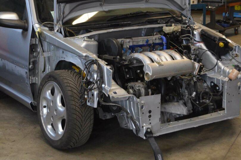 Motore XU10 J4 RS installato 2