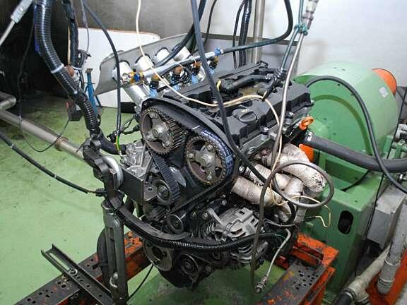 Evo 2010 motore a banco 3