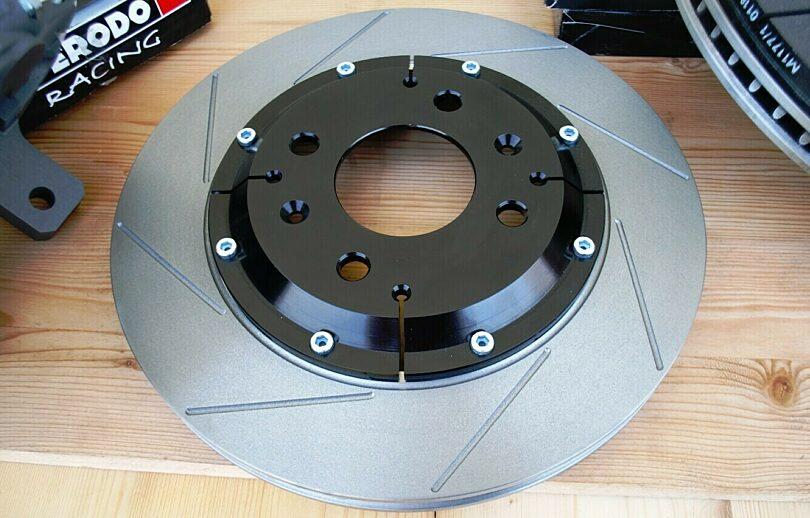 Tecnica freni disco freno scomponibile CTF