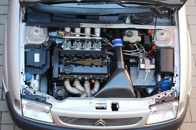 Evo 2010 motore alloggiato
