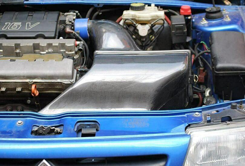 Merc airbox carbonio
