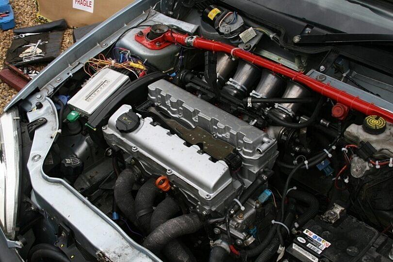 Tecnica motore 4f corte alloggiamento