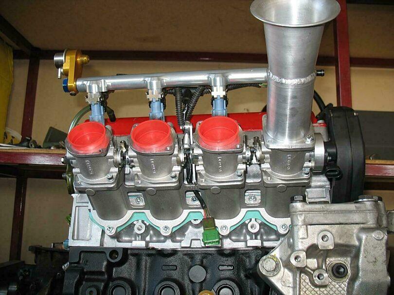 Tecnica motore 4f trom 160 mm