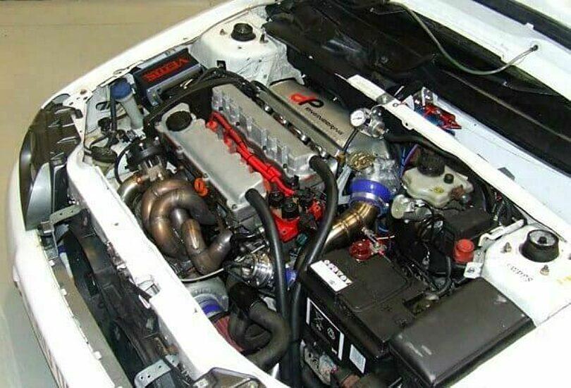 Tecnica motore Saxo turbo DP