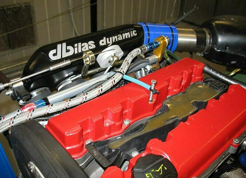 Tecnica motore aspirazione Dbilas test