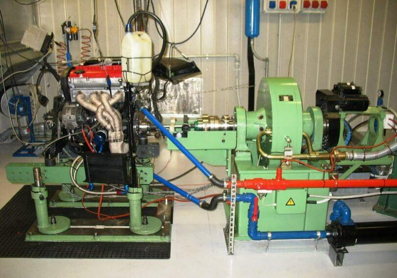 Tecnica motore banco prova 1a